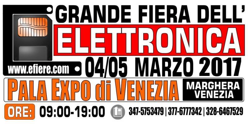 Fiera dell 39 elettronica venezia ve 2017 veneto eventi for Fiera elettronica 2017