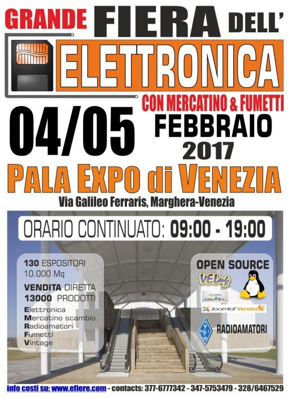 Fiere elettronica fiera dell 39 elettronica 04 02 2017 05 for Fiera elettronica 2017