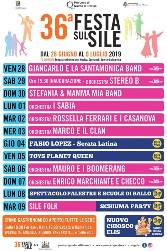 Calendario Feste.Festa Sul Sile A Quinto Di Treviso 2019 Tv Veneto