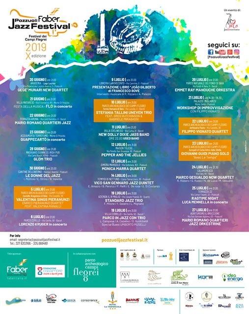 Pozzuoli Jazz Festival A Pozzuoli 2019 Na Campania