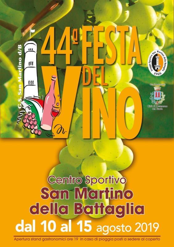 Giorno Di San Martino Calendario.Festa Del Vino A Desenzano Del Garda 2019 Bs Lombardia