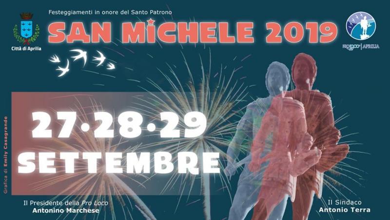 San Michele Data Calendario.Festa Di San Michele Arcangelo A Aprilia 2019 Lt Lazio