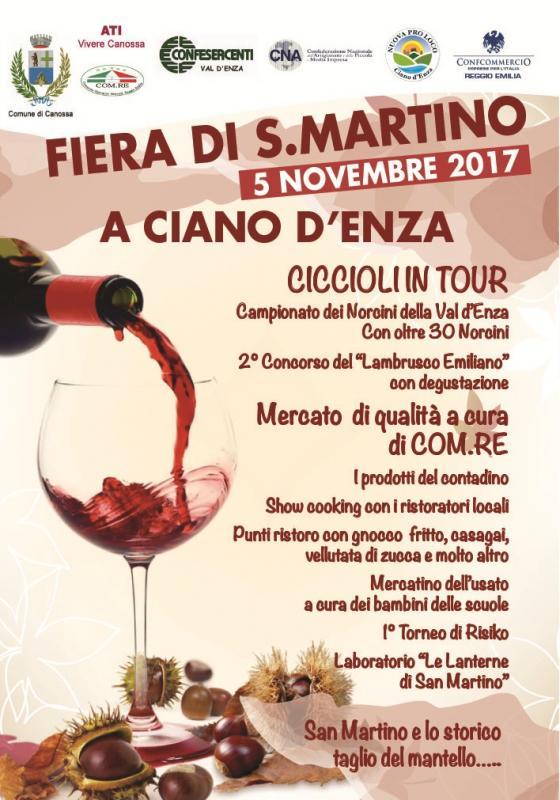 Fiera di san martino a canossa date 2017 re emilia romagna eventi e sagre - Ricci mobili ciano d enza ...