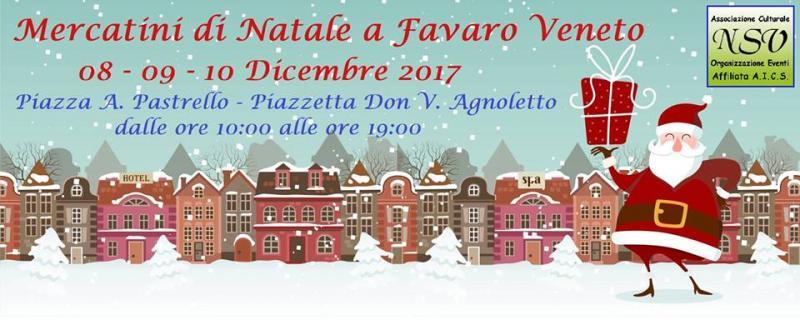 Natale a favaro veneto venezia ve 2017 veneto eventi for Mercatini antiquariato veneto oggi