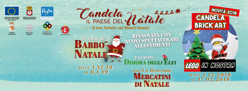 Casa Babbo Natale 2019.Mercatino Di Natale A Candela 2019 Fg Puglia Eventi E Sagre