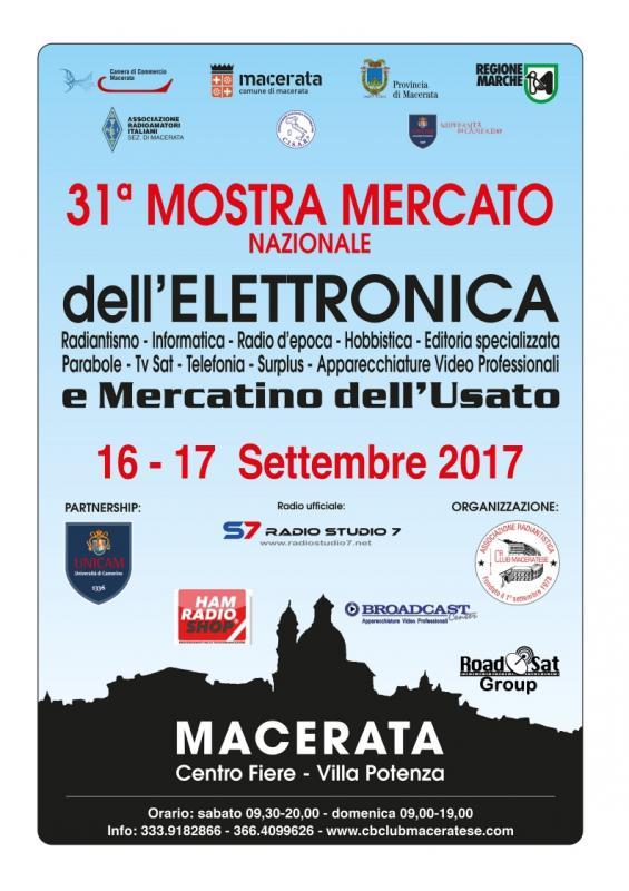 Fiera dell 39 elettronica a macerata mc 2017 marche for Fiera elettronica 2017
