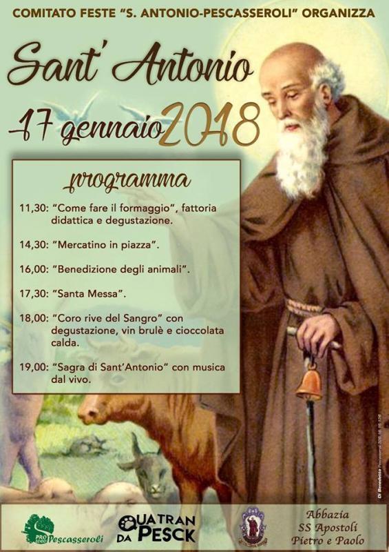 Festa di sant 39 antonio abate pescasseroli aq 2018 for Arredo bimbo sant antonio abate