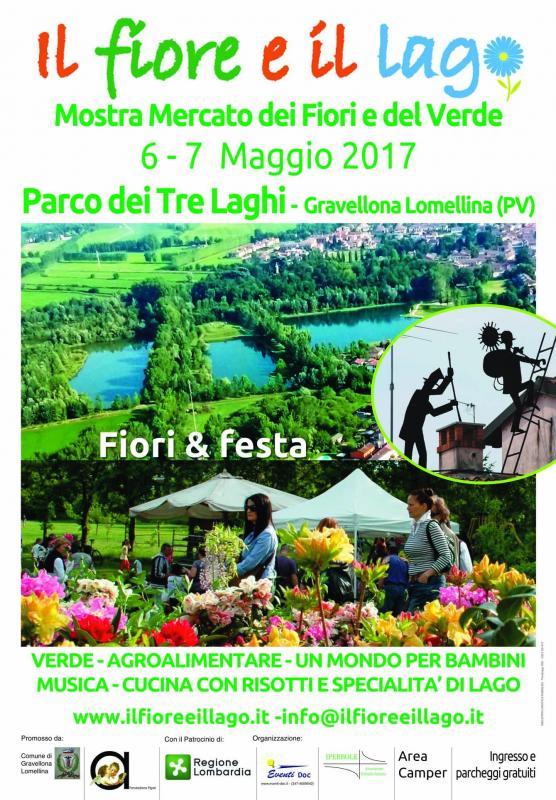 Il fiore e il lago gravellona lomellina 2017 pv for Mostre mercato fiori 2017