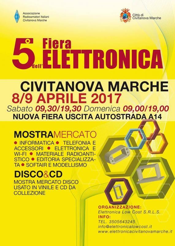 Fiera mercato dell 39 elettronica a civitanova marche mc for Fiera elettronica 2017