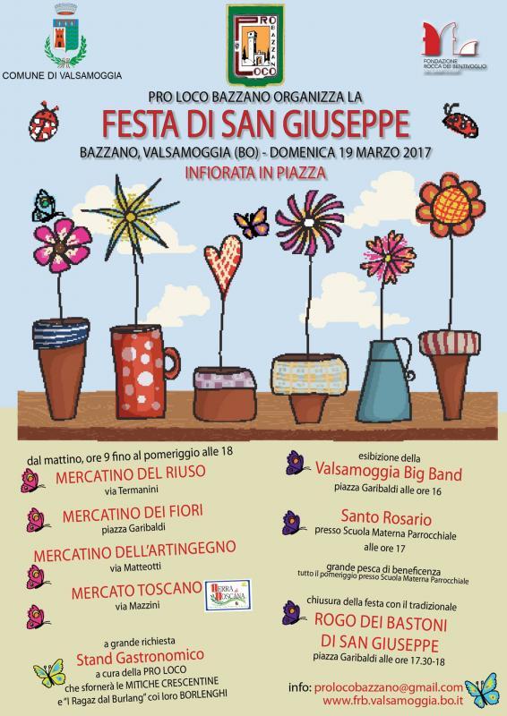 Festa di san giuseppe valsamoggia bo 2017 emilia for Sagre emilia romagna 2017