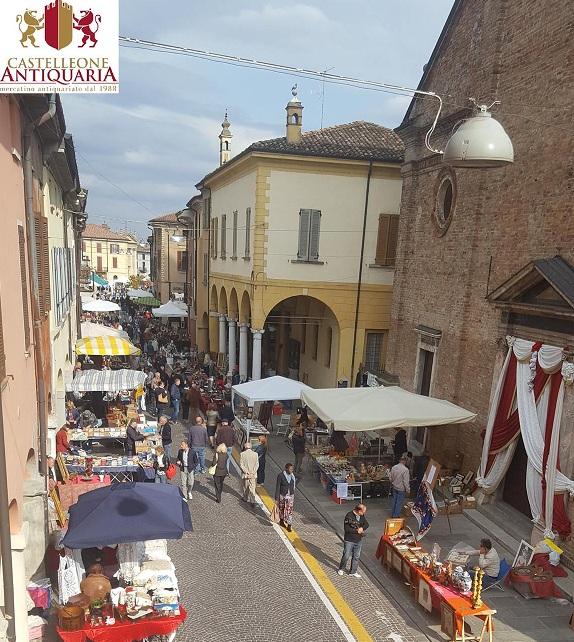 il mercatino del piccolo antiquariato castelleone cr