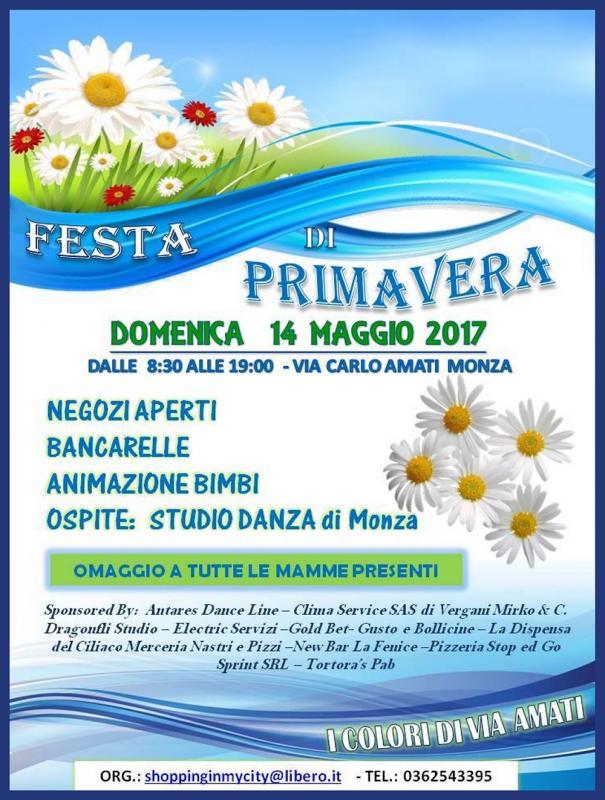 Festa Di Primavera Monza (MB) 2017 | Lombardia su eventi e sagre