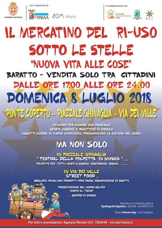 Il Mercatino Del Riuso A Pavia   Pavia