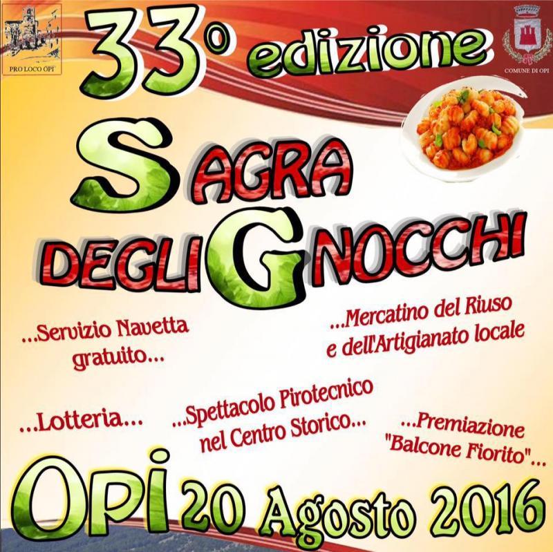 Sagra Degli Gnocchi a Opi | 2016 | (AQ) Abruzzo | eventi e ...