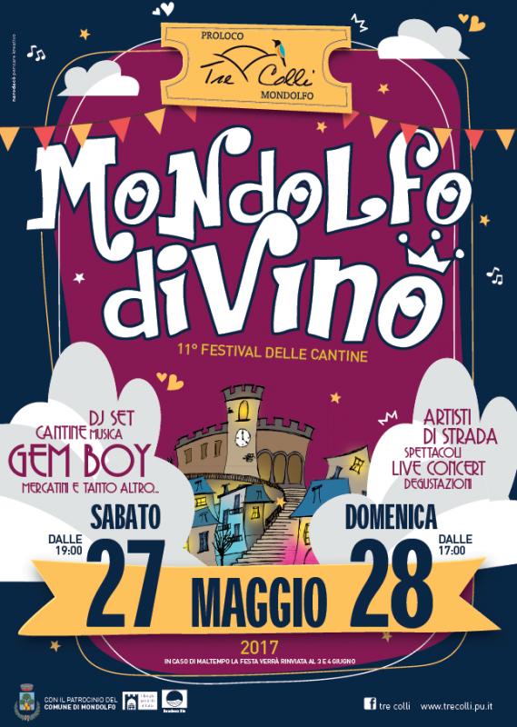 Mondolfo di vino mondolfo pu 2017 marche eventi e sagre for Eventi marche 2017