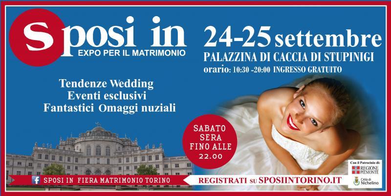 Fiere sposi sposi in nichelino to 24 09 2016 25 09 for Fiere in piemonte oggi