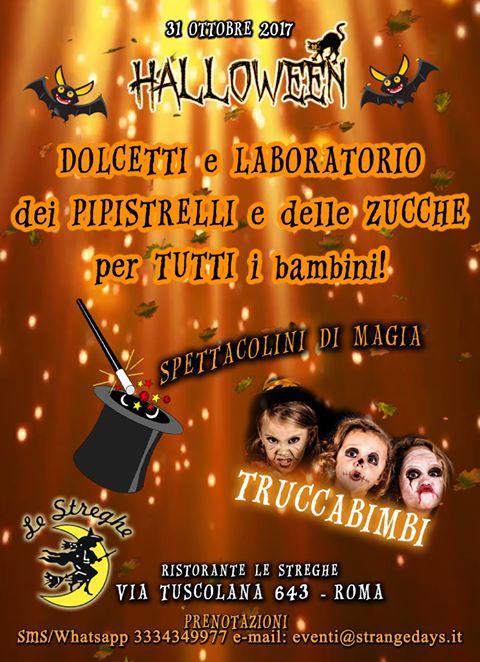 Festa Di Halloween A Roma.Festa Di Halloween A Roma 2017 Rm Lazio Eventi E Sagre