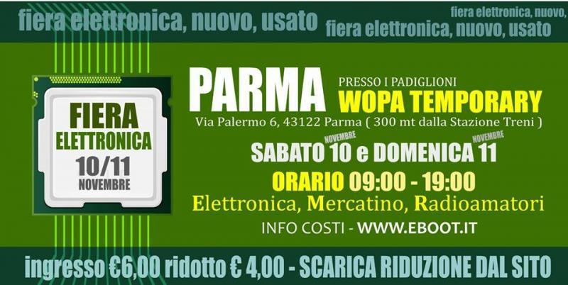 Fiera Dellelettronica Calendario 2020.Fiera Dell Elettronica A Parma 2018 Pr Emilia Romagna