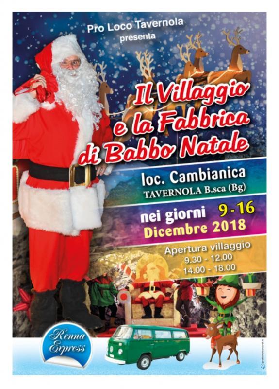 Casa Babbo Natale 2019.Mercatini Di Natale A Tavernola Bergamasca 2019 Bg Lombardia