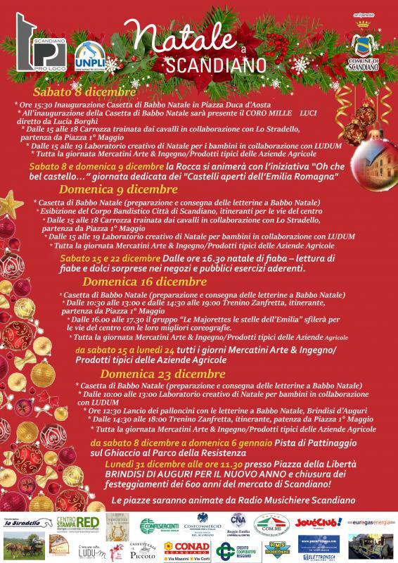 Eventi Natale.Eventi Di Natale A Scandiano A Scandiano 2019 Re