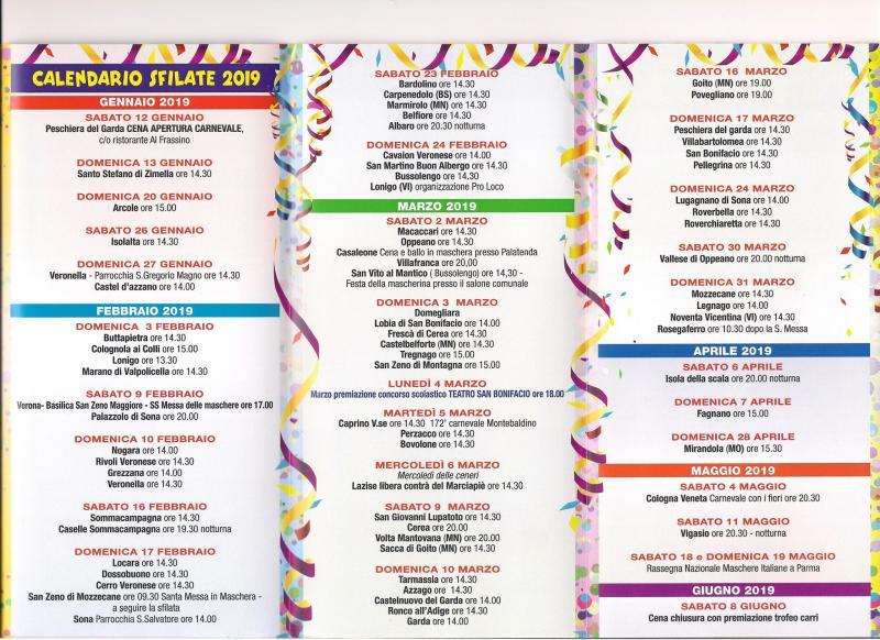 Calendario Sagre.Calendario Sagre Verona E Provincia Calendario 2020