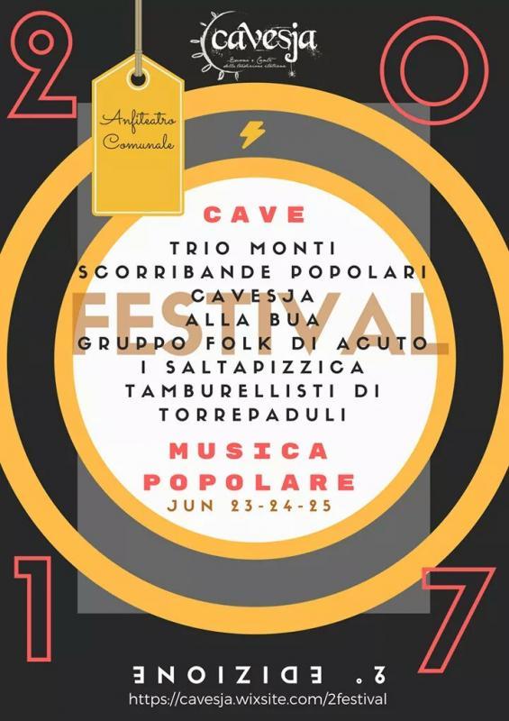Festival di Musica Popolare 2° edizione - Cavesja