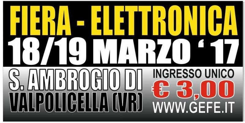 Fiera dell 39 elettronica sant 39 ambrogio di valpolicella vr for Fiera elettronica 2017