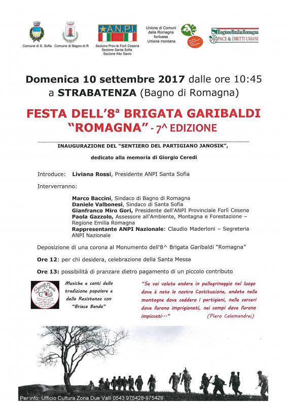 Festa 8 brigata garibaldi bagno di romagna fc 2017 - Eventi bagno di romagna ...