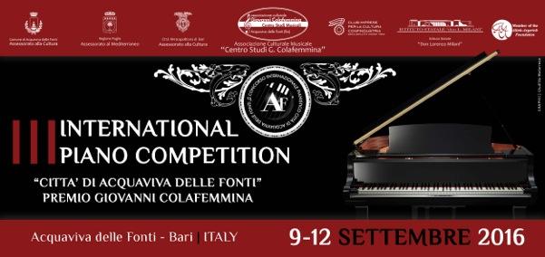 Concorso internazionale pianistico acquaviva delle fonti for Monolocale arredato acquaviva delle fonti