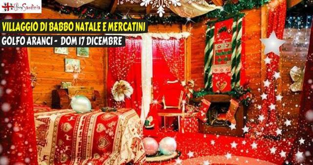 Natale a golfo aranci a golfo aranci date 2017 ot for L ufficio postale di babbo natale