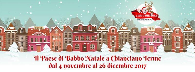 Casa Di Babbo Natale Chianciano.Casa Di Babbo Natale Chianciano Terme Santantonioposta