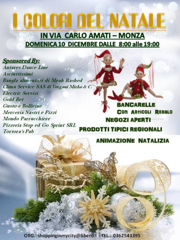 I Colori Del Natale a Monza (MB) 2017 | Lombardia | eventi e sagre