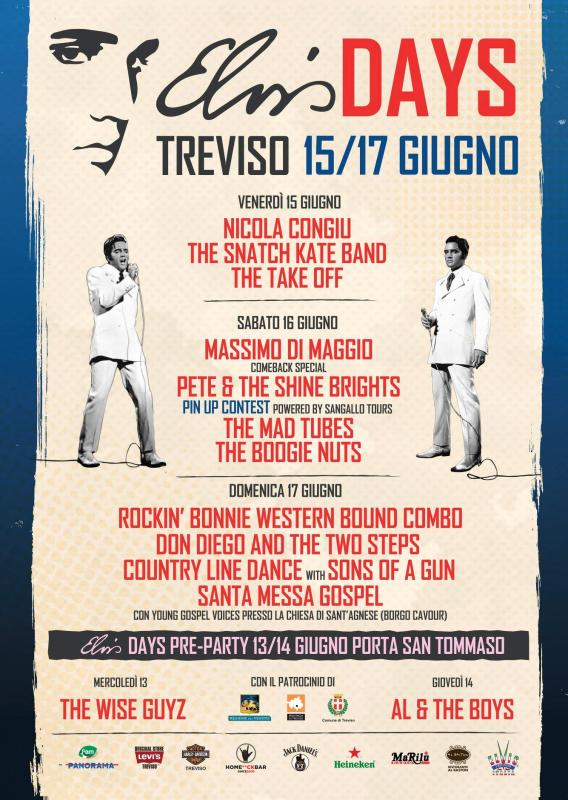 Elvis Days a Treviso   2018   (TV) Veneto   eventi e sagre