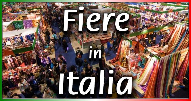fiere in italia 2019 nazionale eventi e sagre