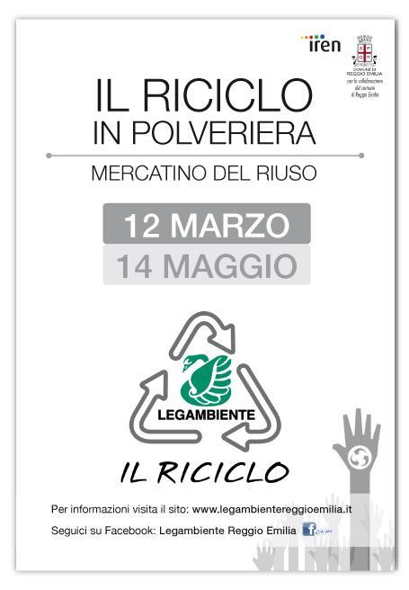 Il riciclo reggio emilia 2017 re emilia romagna for Arredamento usato emilia romagna