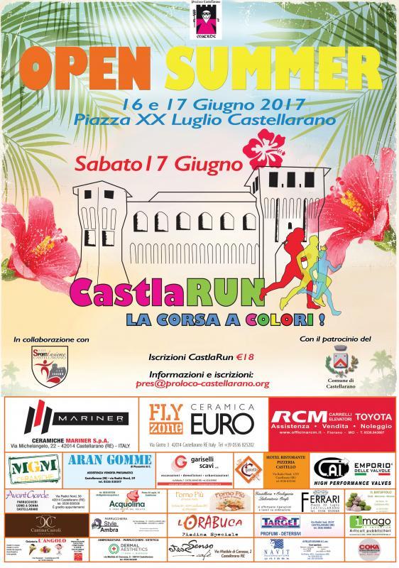 Open summer a castellarano 2017 re emilia romagna for Sagre emilia romagna 2017