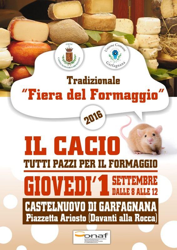 Fiera del formaggio castelnuovo di garfagnana lu 2016 for Fiere alimentari 2016