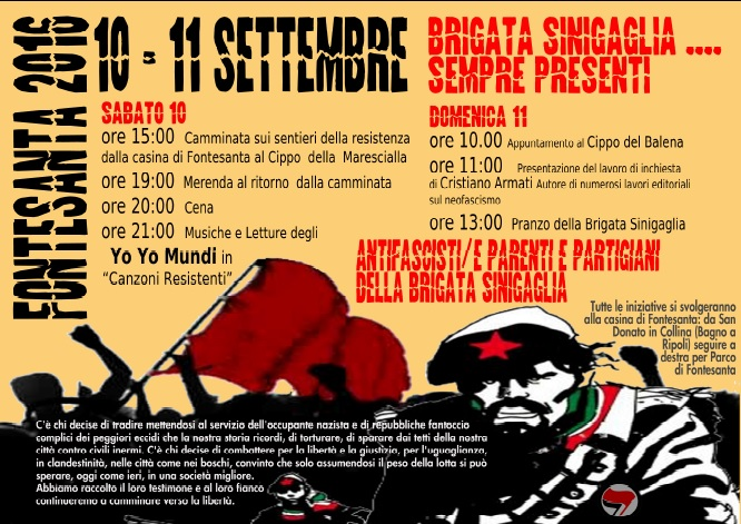 Brigata Sinigaglia A Bagno A Ripoli Fi 2016 Toscana