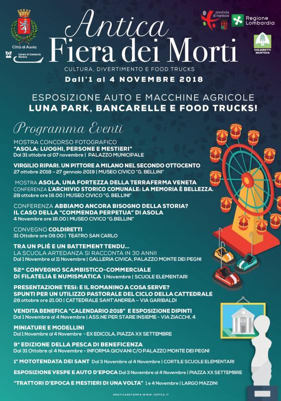 1c454a9d88 Fiera Dei Morti a Asola | 2018 | (MN) Lombardia | eventi e sagre