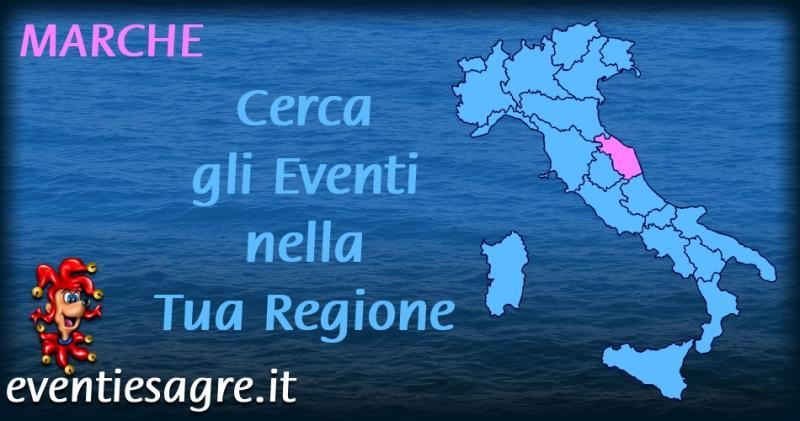 Calendario Mensile Eventi E Sagre Regione Marche | 2020 | Marche