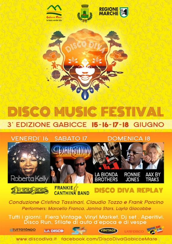 Disco diva a gabicce mare pu 2017 marche eventi e sagre for Eventi marche 2017