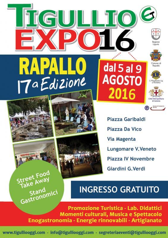 Fiere alimentari tigullio expo rapallo ge 05 08 2016 for Fiere alimentari 2016