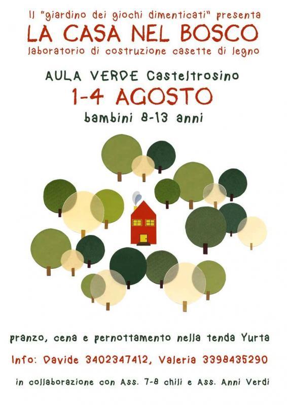 La casa nel bosco a ascoli piceno 2016 ap marche for La casa nel laghetto