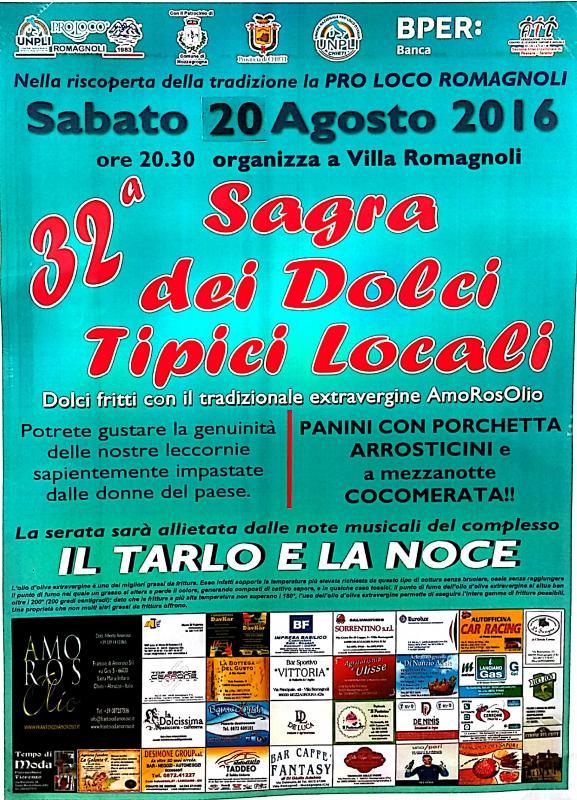 Sagra Dei Dolci Tipici Locali a Mozzagrogna | 2016 | (CH ...