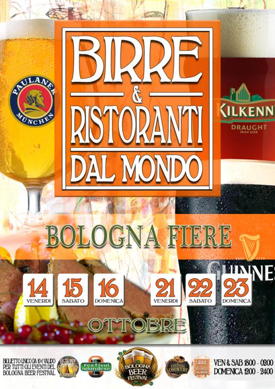 Birre e ristoranti dal mondo a bologna bo 2016 emilia for Mondo bologna