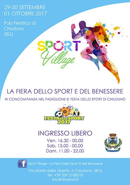 Sport Village Chiuduno (BG) 2017 | Lombardia su eventi e sagre