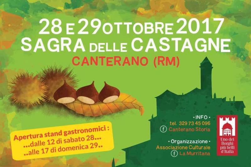 Sagra Della Castagna A Canterano a Canterano | 2017 | (RM ...