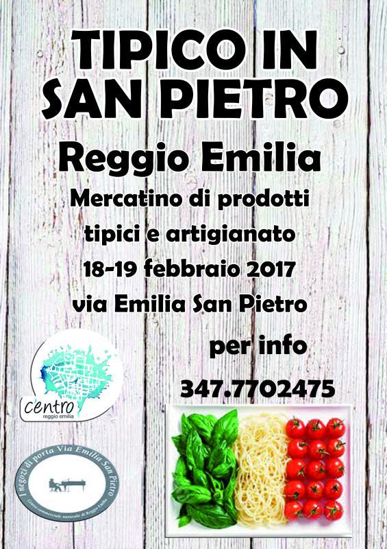 Tipico in san pietro reggio emilia re 2017 emilia - Mercatini antiquariato in romagna ...