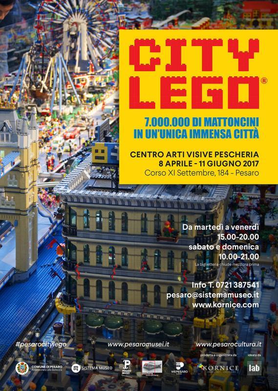 City lego pesaro pu 2017 marche eventi e sagre for Eventi marche 2017