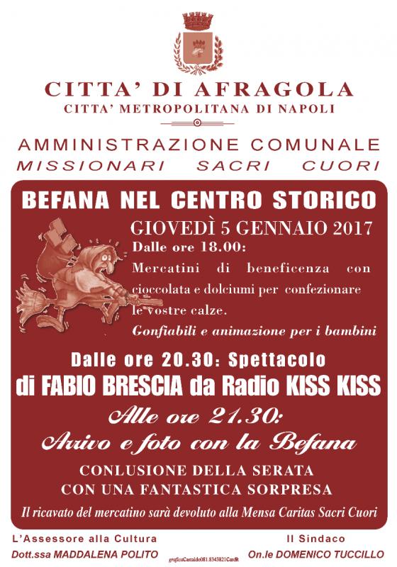 Festa della befana ad afragola afragola na 2017 for Ad arredamenti afragola